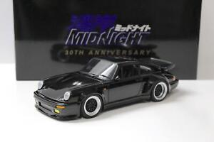 "1:18 AUTOart Porsche 911 (930) Turbo Wangan Midnight ""Blackbird"" 30th Annivers"