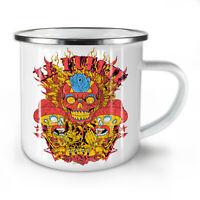 Day Of Dead Muerte NEW Enamel Tea Mug 10 oz | Wellcoda