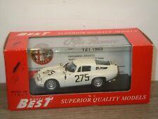 Alfa Romeo TZ1 Monza 1963 - Best Models 1:43 in Box *37278