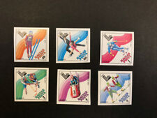 Hungary Scott No. C410-5 MNH Imperforate Imperf Imp 13th Winter Olympics Sports