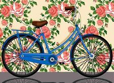 Seg de Paris Tapisserie / Toile de Tapisserie à L'Aiguille – Bicyclette
