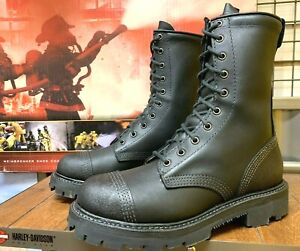 THOROGOOD MEN SIZE 7 M USA MADE FIRE FIGHTING MILITARY STYLE BOOTS 834-6373
