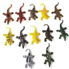 12pcs Multi-color Plastic Crocodile Model Kids Favors Trick Toy