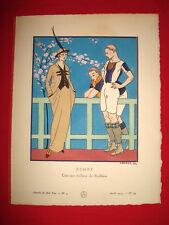 MODE FASHION COUTURE PRET A PORTER Gazette BON TON 1914 N° 4 BARBIER REDFERN