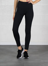 Leggings da donna neri in poliestere, elastane
