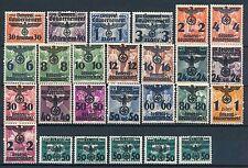 Briefmarken aus dem Generalgouvernement (bis 1945) mit Falz
