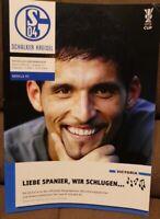 FC Schalke 04 + Schalker Kreisel Magazin 20.04.2006 UEFA-Cup vs. Sevilla FC /433