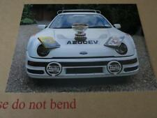 FORD RS200 RS 200 GUINESS WORLD RECORD HOLDER - 3 PRESS MEDIA PHOTOGRAPH