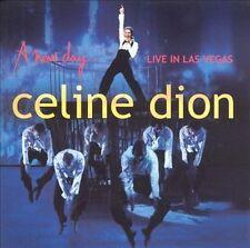 A New Day...Live in Las Vegas by Celine Dion (CD + DVD, 2004 Sony) Bonus DVD/Trx