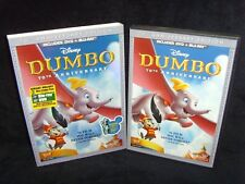 DISNEY Dumbo Blu-ray & DVD 2-Disc Set 70th Anniversary Edition MOVIE w/SLIPCOVER