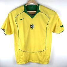 NIKE BRAZIL Short Sleeve Soccer Jersey Mens Size XL