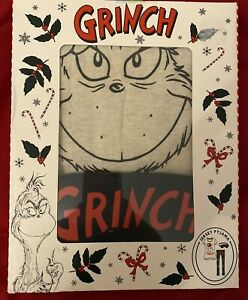 Primark The Grinch Boxed Pyjama Set UK 12-14 BNIB