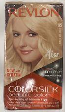 REVLON ColorSilk Now With Keratin beautiful color - 95 (Light Sun Blonde)