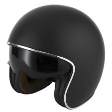 goodluccoy Vintage Motorcycle Riding Half Helmet Open Face Windproof Unisex Motorbike Road