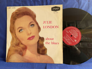 JULIE LONDON ABOUT BLUES HAU 2091 LONDON ORIGINAL FRANCE LP EXC