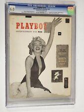 PLAYBOY #1 CGC 6.0 MARILYN MONROE COVER 1953 ORIGINAL