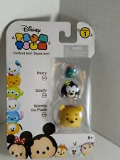 Tsum Tsum 3-Pack Figures: Perry 167/Goofy 108/Winnie the Pooh 148