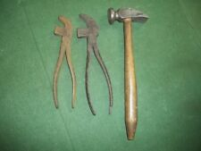 Timmons & Sons Cobblers Pliers #2 #3 Hammer 00