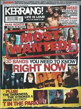 KERRANG! #1015 JUL2004 MY CHEMICAL ROMANCE Nightwish MASTODON Taking Back Sunday