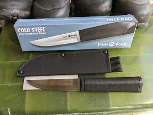 "Cold Steel Finn Bear 8.5"" 2.8oz With Sheath new in box"