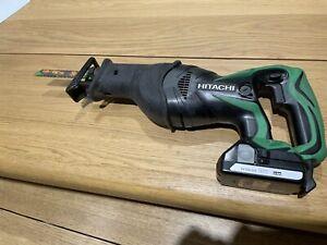 Hitachi Hikoki CR18DSL/L4 18v Reciprocating Saw Sabre Saw With Battery - Used