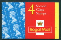 GB QEII BARCODE BOOKLET HA7 1993 4 X 2ND CLASS STAMPS PANE 1664 10% OFF FOR 5+