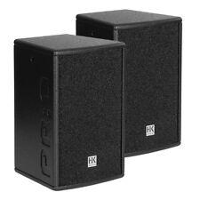 """2x HK Audio Premium PRO8 Pasivo Altavoces 8"""" 1200W Sistema De Sonido Dj"""