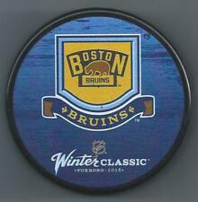 Boston Bruins  2016 Winter Classic  Foxboro   Souvenir Hockey Puck