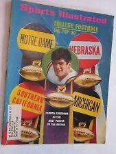 1971 Sports Illustrated Magazine September 13 College Football Tommy Casanova