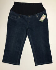 Oh Mamma Women Size L Maternity Jeans Conceals 18758 Nwt