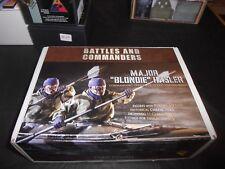 "BATTLES & COMMANDERS RPM-75-12-0001 75mm MAJOR ""BLONDIE"" HASLER FIGURE SET"