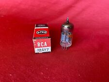 RCA 12AY7 Electronic Tube - In Box - Tested