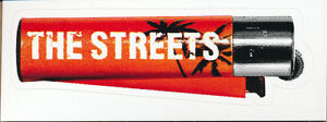 The Streets The Hardest Way To Make An Easy Living RARE promo sticker 2006