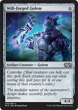 Will-Forged Golem x4 EX/NM M15  2015 Core Set MTG Magic Cards Artifact  Common