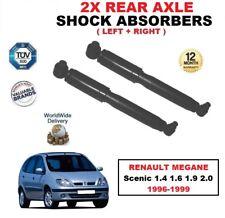 amortisseurs arrières x 2 Kit pour Renault Megane Scenic 1.4 1.6 1.9 2.0