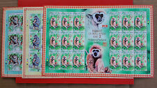 2016 Malaysia Year Of Monkey Zodiac - Primates Series 2 ( Stamp Sheetlet )