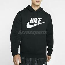 Nike Nsw Club Fleece Pullover Hoodie Sport Training Workout Gym Black Bv2974-010