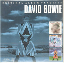 "DAVID BOWIE ""Original Album Classics"" 3CD Cardsleeve Slipcase Box sealed"