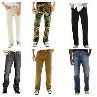 Men's Arizona Slim Straight Jeans, 29 30 32 33 34 38, Camo Grey Stone Oak, New