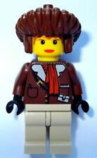 LEGO Adventurers 7412 Pippin Reed Minifigure in Parka w/ Brown Mongolian Hat NEW