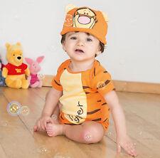 Disney Winnie l'ourson Tigrou Combinaison Déguisement Âge 0-3 mois