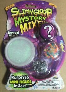 SEALED Horizon Group SlimyGloop Mystery Glitter Slime Mix'Ems + Surprise Figure