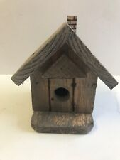 Hand Crafted Decorative Birdhouse