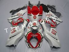 For GSXR1000 2007 2008 ABS Injection Mold Bodywork Fairing Kit Red Lucky Strike