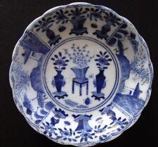 Coupelle 12cm Qing blanc bleu Chine Antique chinese ceramic blue white XIX