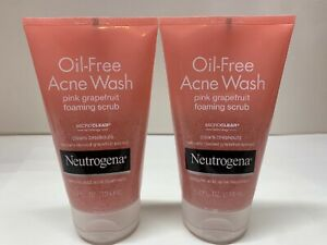 Oil-Free Acne Wash Pink Grapefruit  4.2oz (2 pack)