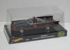 Mattel Hot Wheels   Batman Classic TV series Batmobile 1/24 neuve