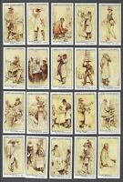 1934 Lambert & Butler London Characters Tobacco Cards Complete Set of 25