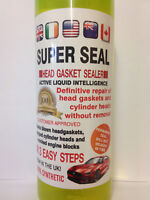 Super Seal   Head Gasket repair  engine block cracked cooling system