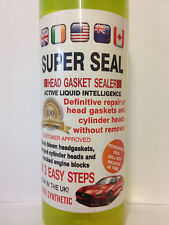 Head Gasket sealer  engine block cracked cooling system SUPER SEAL FREE POST